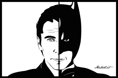 BRUCE WAYNE / BATMAN!