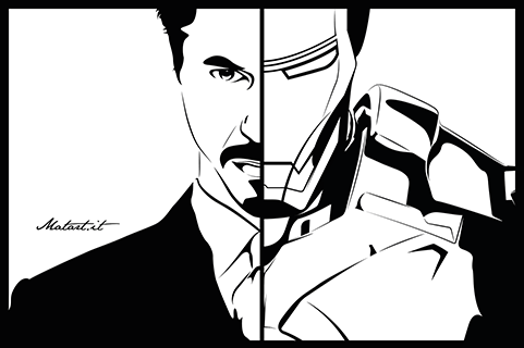 TONY STARK / IRON MAN!